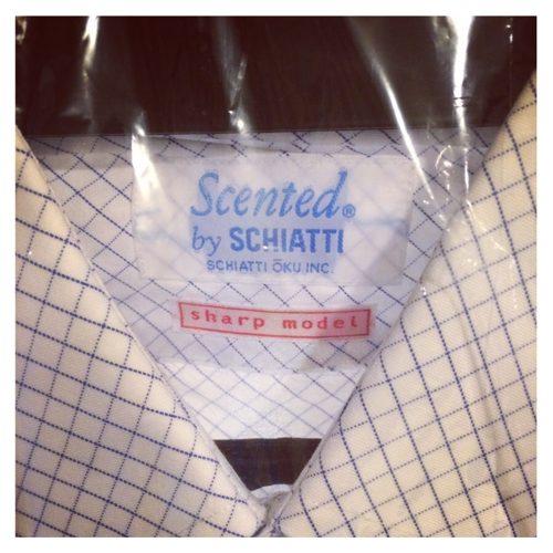 スキャッティのワイシャツ
